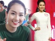 """Thời trang - Hoa hậu VN: """"Bản sao Nguyễn Thị Huyền"""" lội bùn, cuốc đất"""