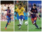 """Bóng đá - Tam tấu MSN: So kè ngôi """"vua đá phạt"""" ở Barca"""