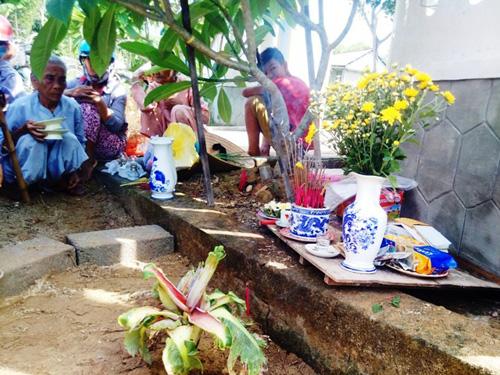 Dân đổ xô, cúng vái cây chuối 15cm nở liền 6 bắp hoa