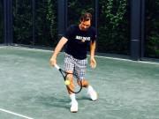 """Thể thao - Federer """"luyện công"""" trở lại: Chờ một cuộc hồi sinh"""