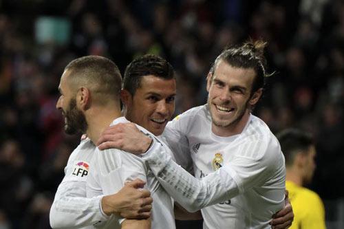 """BBC đấu MSN: """"Đấu súng"""" viễn Tây tại La Liga"""
