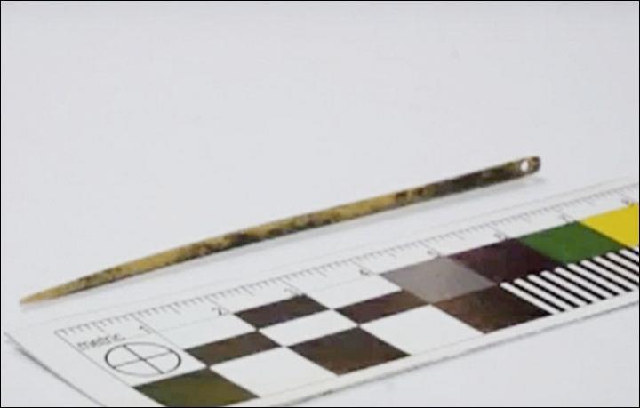 Tìm thấy kim khâu tự chế 50.000 tuổi vẫn dùng tốt - ảnh 2