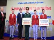 Thể thao - Xạ thủ Hoàng Xuân Vinh nhận thưởng gần 5 tỷ đồng