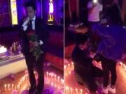 Bạn trẻ - Cuộc sống - Chàng trai xứ Nghệ cầu hôn lãng mạn như phim Hàn