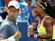 Thể thao - Hạt giống US Open: Áp lực trên vai Djokovic, Serena