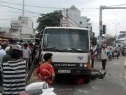 Tin tức trong ngày - Vừa đặt chân tới Sài Gòn, người phụ nữ bị xe ben cán chết