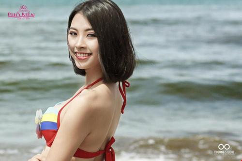 """Hoa hậu VN: Vóc dáng sexy của """"bản sao Tăng Thanh Hà"""" - 10"""