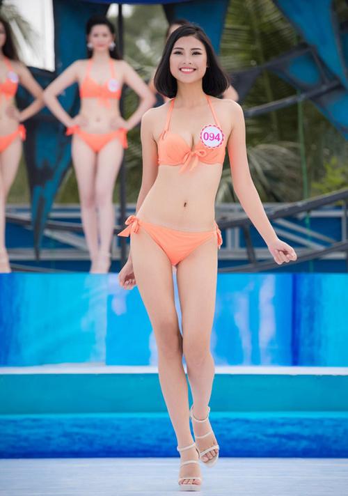 """Hoa hậu VN: Vóc dáng sexy của """"bản sao Tăng Thanh Hà"""" - 9"""