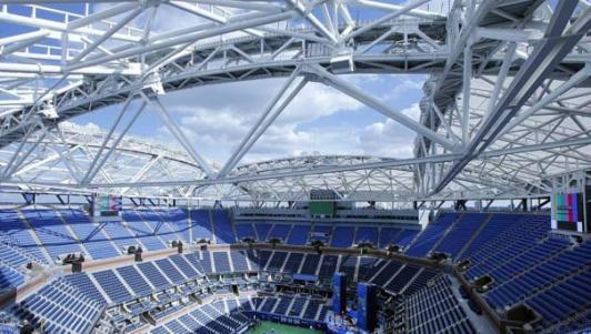 """3000 tỷ VNĐ, 6000 tấn thép: """"Chiếc ô"""" khủng ở US Open"""