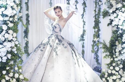 """""""Sôi sục"""" vì ảnh cưới đẹp ngất ngây của Thanh Hằng - 5"""