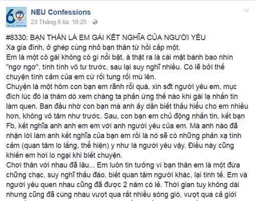 """dang long vi nho ban than """"thu"""" nguoi yeu - 2"""
