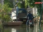 Video An ninh - Một tuần sau bão số 3, người HN phải bỏ nhà vì ngập