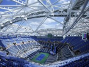 """Thể thao - 3000 tỷ VNĐ, 6000 tấn thép: """"Chiếc ô"""" khủng ở US Open"""
