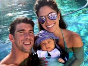 Thể thao - Mỹ mãn Michael Phelps: Vợ đẹp, con khôn và nhà 50 tỷ