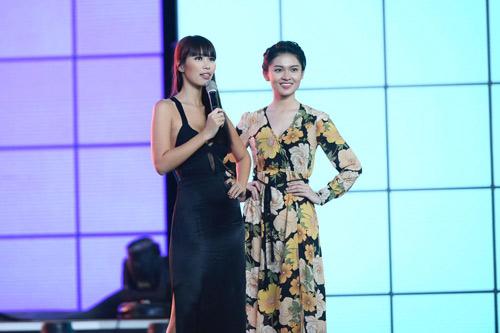 Hà Anh sexy hết cỡ khi hướng dẫn thí sinh Hoa hậu VN - 6