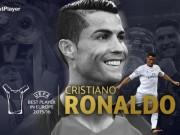Bóng đá - Cầu thủ hay nhất châu Âu: Lần thứ 2 cho Ronaldo
