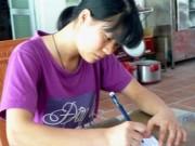 Giáo dục - du học - Làm thuê từ bé, nữ sinh đạt 30 điểm khối C