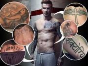 Ca nhạc - MTV - Cả cơ thể toàn hình xăm về phụ nữ trong đời David Beckham