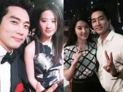 Phim - Song Seung Hun tung ảnh thân mật với Lưu Diệc Phi