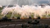 Video: Nhật Bản tập trận bắn đạn thật quy mô lớn