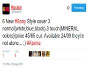 Dế sắp ra lò - Sony Xperia XR và Xperia X Compact ra mắt ngày 24 tháng 9