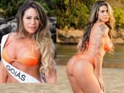 """Thời trang - """"Nóng"""" như dàn người đẹp Hoa hậu Siêu vòng 3 Brazil"""