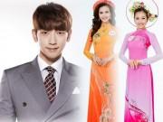 Thời trang - Bi Rain náo loạn sân khấu Hoa hậu VN cùng top 30
