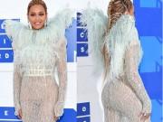 Thời trang - Beyonce nổi nhất thảm đỏ VMA với váy mỏng như sương