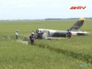 Video An ninh - Tại nạn bay khi huấn luyện, một phi công hy sinh