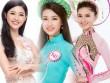 """"""" Cân đo """"  nhan sắc hoa hậu Mỹ Linh cùng 2 tân á hậu"""