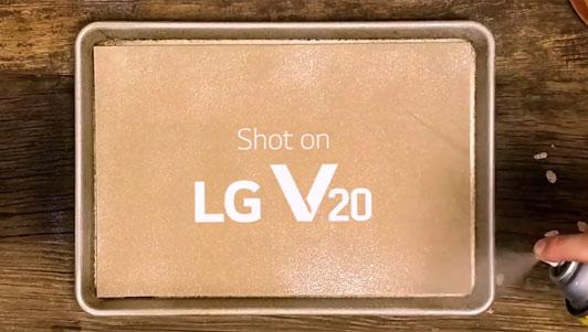 LG tung video quảng cáo độc đáo dành cho V20