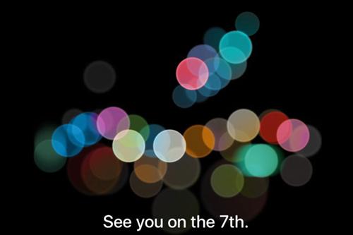 Apple gửi thư mời sự kiện ra mắt iPhone 7