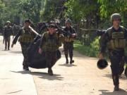 Thế giới - Đấu súng dữ dội, 12 lính Philippines bị khủng bố giết hại