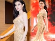 """Thời trang - Sự thật về chiếc váy """"đụng hàng"""" của hoa hậu Mỹ Linh"""