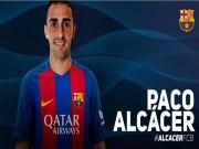 Bóng đá - CHÍNH THỨC: Barca có Paco Alcacer giá 30 triệu Euro