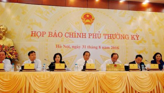 Họp báo Chính phủ: Thông tin mới về ông Trịnh Xuân Thanh