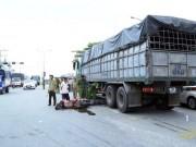 Tin tức trong ngày - Hai cha con gặp nạn dưới bánh xe tải