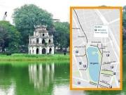 Tin tức trong ngày - [Đồ họa] Xe lưu thông thế nào quanh 16 phố đi bộ Hồ Gươm?