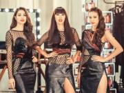 """Thời trang - Phạm Hương và """"cô gái sexy nhất The Face"""" lại đối đầu"""