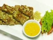 Ẩm thực - Thịt heo nướng cốm xanh lạ miệng đón thu sang