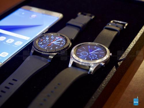 Samsung Gear S3 trình làng, mạnh mẽ và lịch lãm