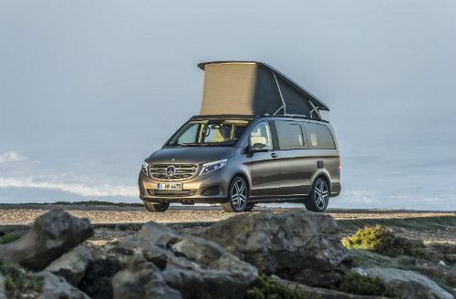 Mercedes ra loạt xe cắm trại mới cho nhà giàu - 6