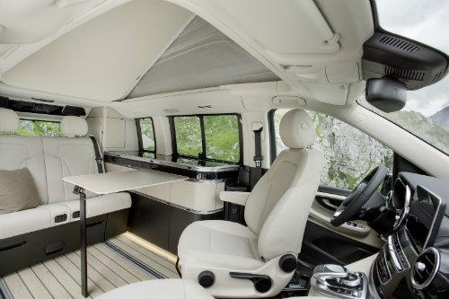Mercedes ra loạt xe cắm trại mới cho nhà giàu - 2