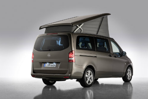Mercedes ra loạt xe cắm trại mới cho nhà giàu - 14