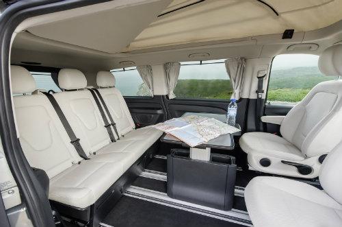 Mercedes ra loạt xe cắm trại mới cho nhà giàu - 8