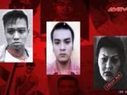 Video An ninh - Lệnh truy nã tội phạm ngày 1.9.2016