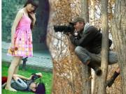 """Tranh vui - Hình ảnh """"xả thân vì nghệ thuật"""" của nhiếp ảnh gia"""
