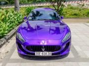 """Tư vấn - Maserati GranTurismo màu tím """"cực độc"""", biển đẹp trở lại Sài Gòn"""