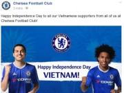 Bóng đá - CLB Chelsea, Dortmund chúc mừng Quốc khánh Việt Nam