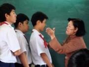 Giáo dục - du học - Kỷ luật cô giáo nhiều lần đánh nữ sinh